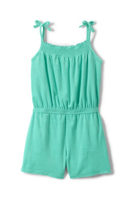 Little Girls Knit Smocked Romper