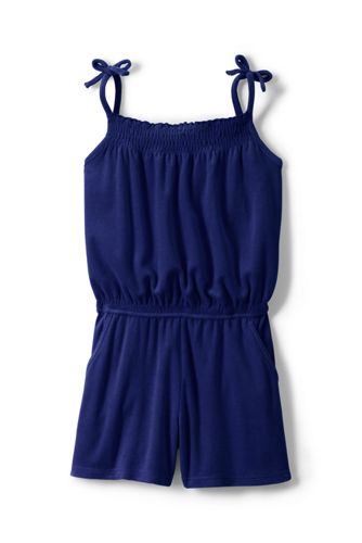 Toddler Girls' Strappy Jersey Playsuit