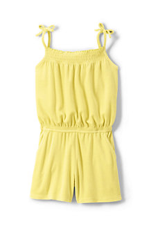 Girls' Strappy Jersey Playsuit
