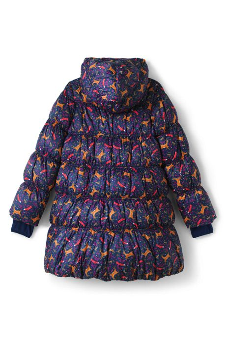 Girls A-Line Down Coat