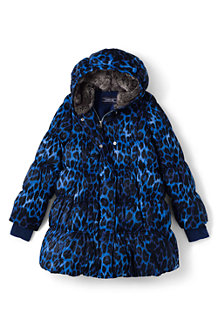 Girls' A-line Down Coat