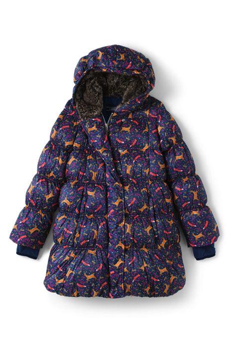 Girls A-Line Down Coat