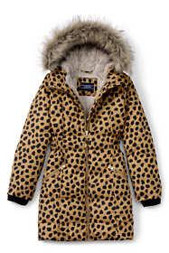 Girls Fleece Lined Down Jacket