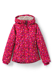 Girls' Fleece Lined Patterned Jacket