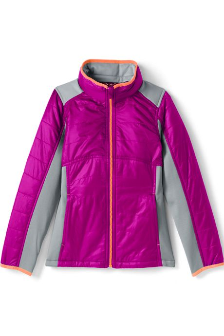 Girls Primaloft Hybrid Jacket
