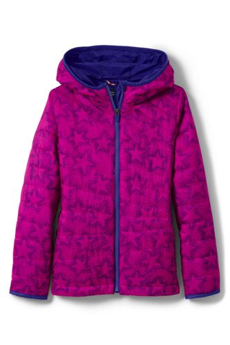 Toddler Girls' PrimaLoft Packable Patterned Jacket