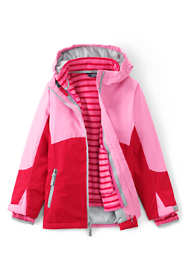 School Uniform Little Girls Stormer 3 in 1 Winter Parka