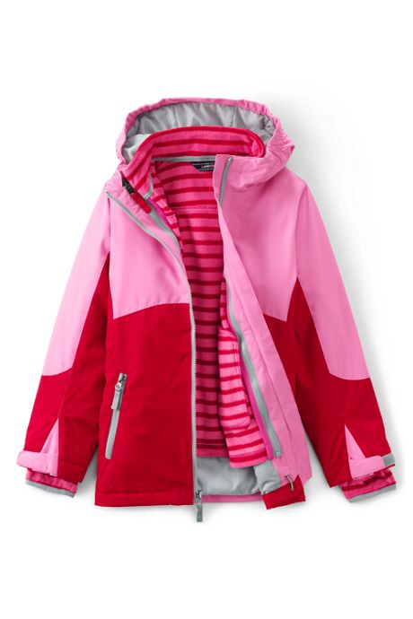 Little Girls Stormer 3 in 1 Winter Parka