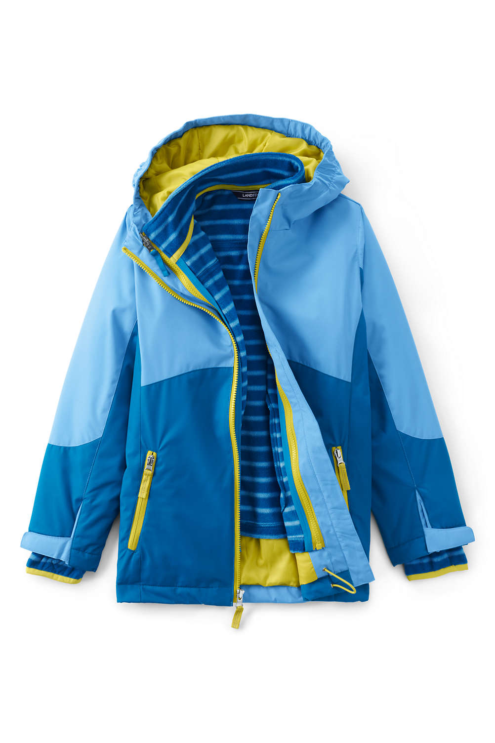 36ca3b9a7 Girls Stormer 3 in 1 Winter Parka from Lands' End