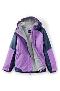 Girls Purple Jackets Parkas Coats