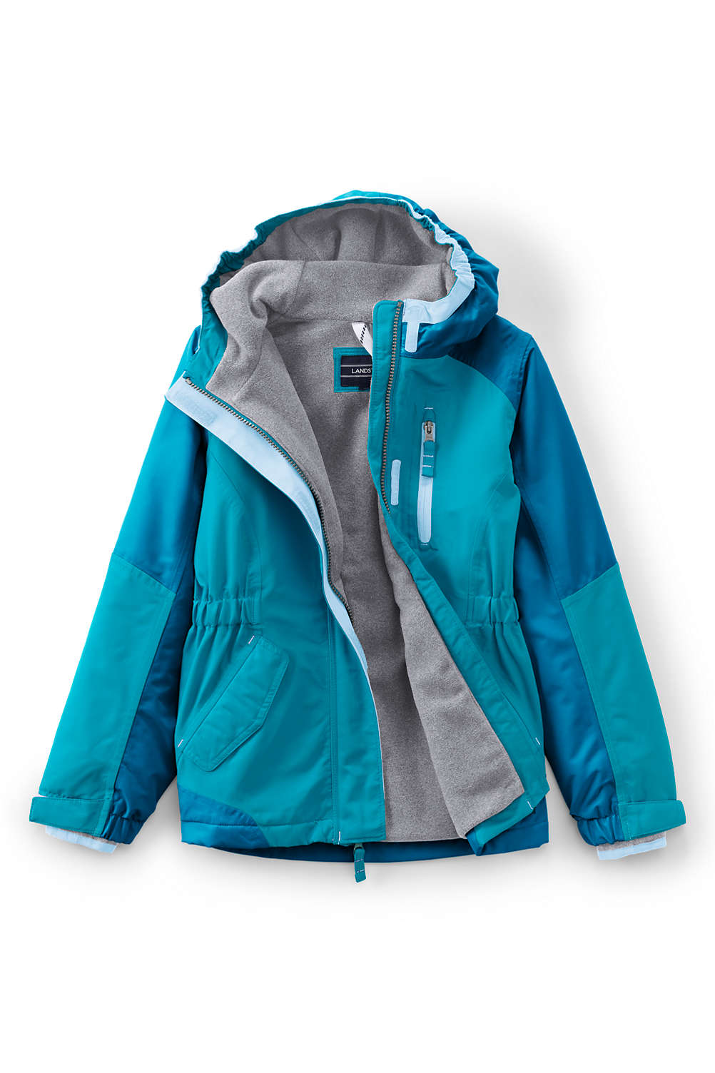 e903231c8 Girls Squall Waterproof Winter Jacket from Lands' End