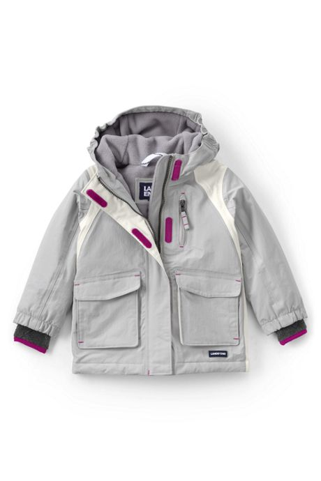 School Uniform Toddler Girls Squall Waterproof Winter Parka