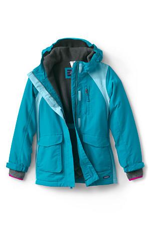 bd7752b7c Girls' Squall Coat | Lands' End