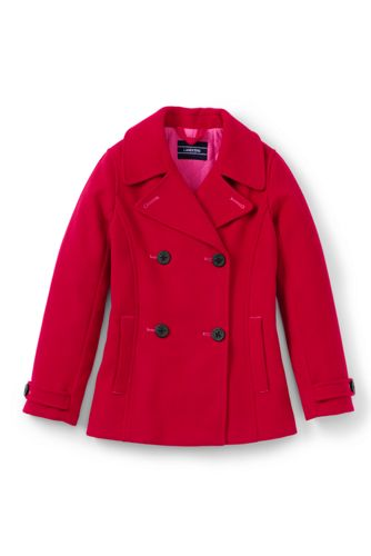 Girls' Pea Coat