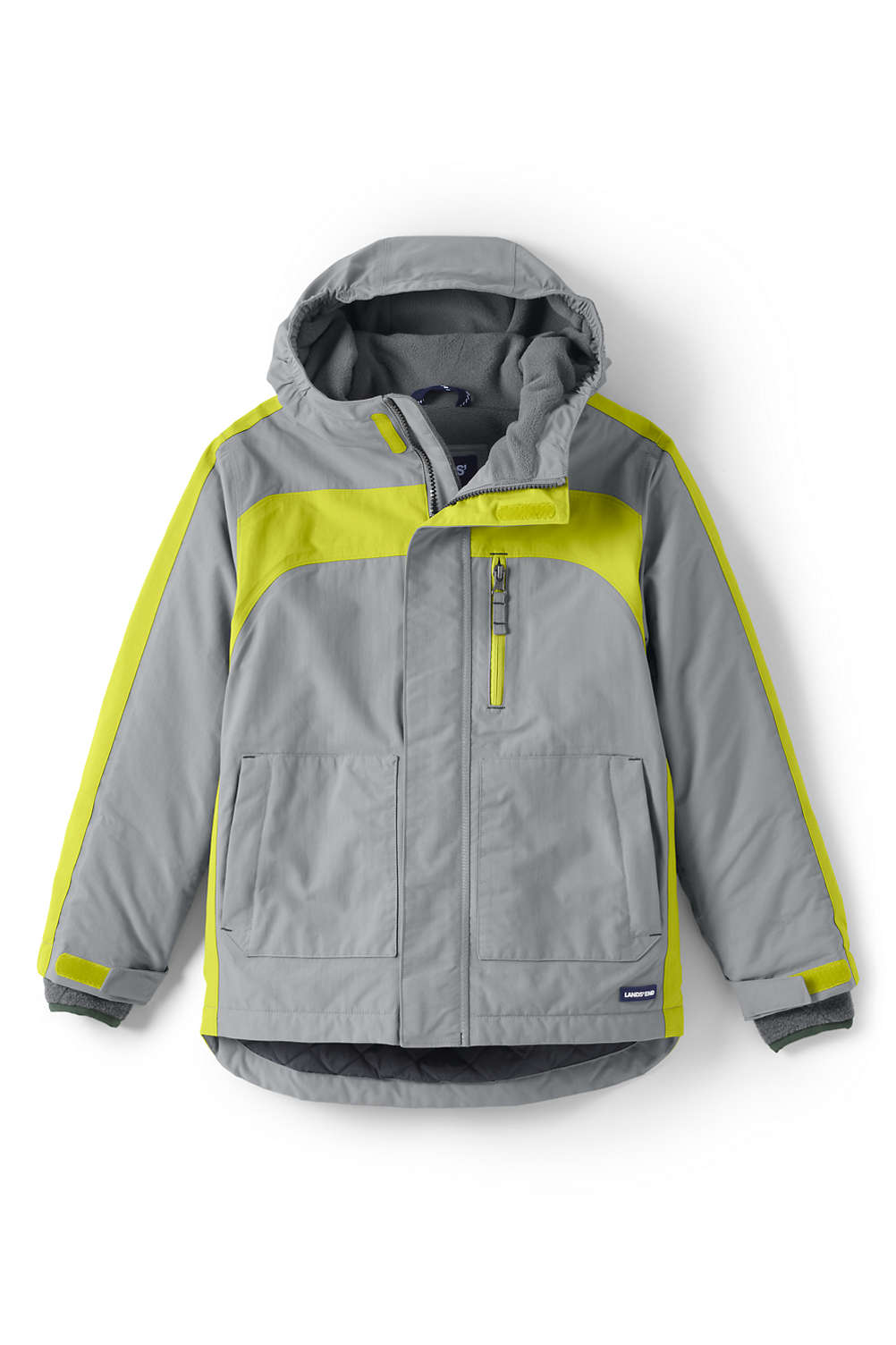 63635b0c9015 Boys Squall Waterproof Winter Parka from Lands  End