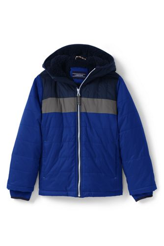 Toddler Boys' Fleece-lined Jacket