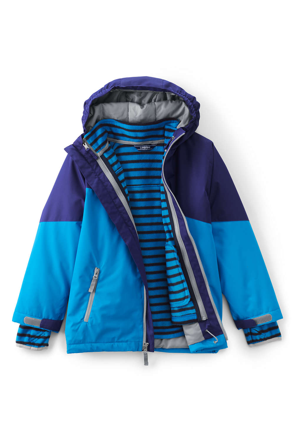 8bca0884188e Boys Stormer 3 in 1 Winter Parka from Lands  End