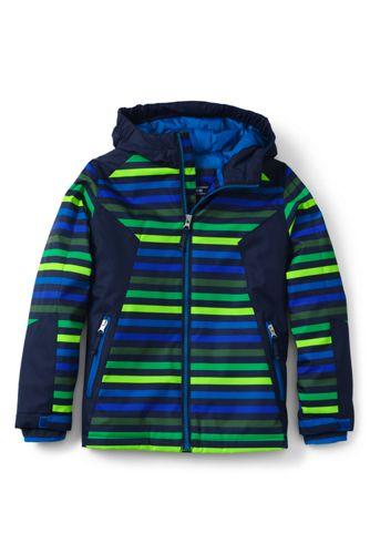 Little Boys' Striped Stormer Jacket