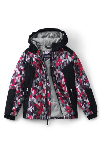 Boys' Striped Stormer Jacket