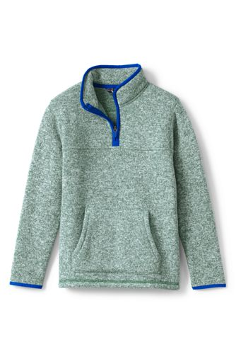 Boys' Sweater Fleece Half-zip Jumper