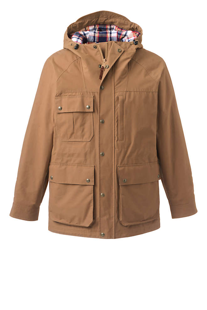 Men's Tall Bayfield Cotton Parka, Front