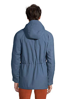 Men's Tall Bayfield Cotton Parka, Back