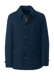 Men's Tall Wool Car Coat