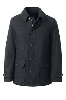 Men's Wool Blend Car Coat
