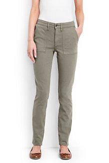 Le Jean Slim Coloré Coupe 2 à Grandes Poches, Femme Stature Standard