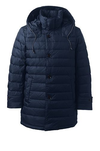 Business Down Coat 486041: Classic Navy