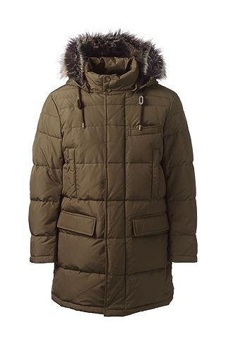 Navigator Down Coat 486042: Teak Brown
