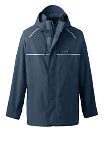 Men's Tall Waterproof Squall System Shell Jacket, Front