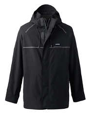 Men's Tall Waterproof Squall System Shell Jacket