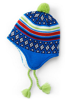 Boys' Peruvian Patterned Hat