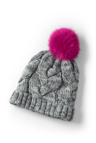Girls' Chunky Cable Hat