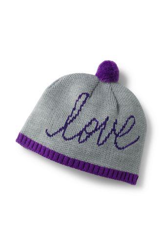 Girls' Graphic Beanie Hat