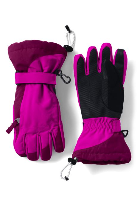 Girls Squall Waterproof Insulated Winter Gloves