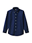 Little Boys' Print Washed Oxford Shirt