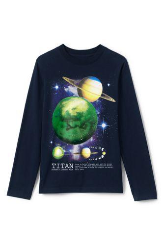 Le T-Shirt Graphique à Manches Longues, Petit Garçon