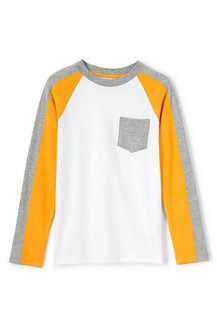 Boys' Colourblock Raglan Tee