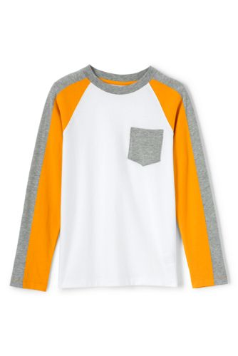 Little Boys' Colourblock Raglan T-shirt