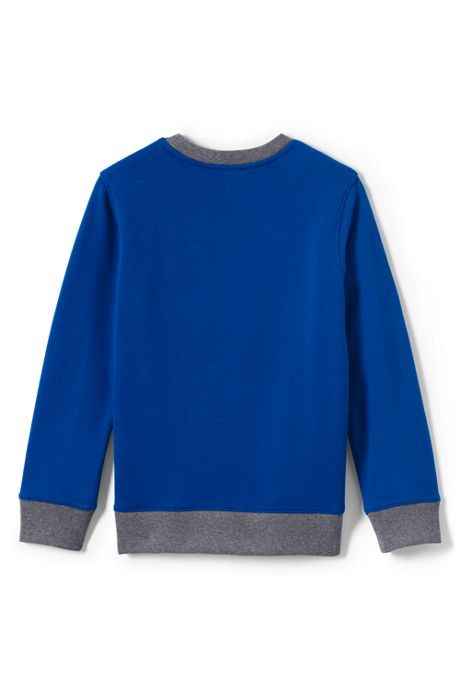 Boys Graphic Crewneck Sweatshirt