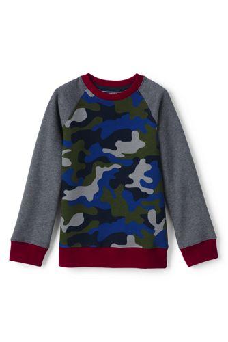 Le Sweatshirt Imprimé à Manches Longues, Garçon