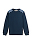 Toddler Boys' Chambray Trim Sweatshirt