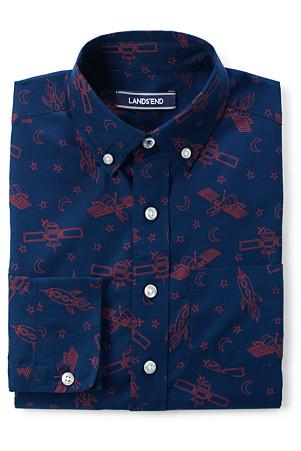 1d70e7ab8c Little Boys' Print Poplin Shirt