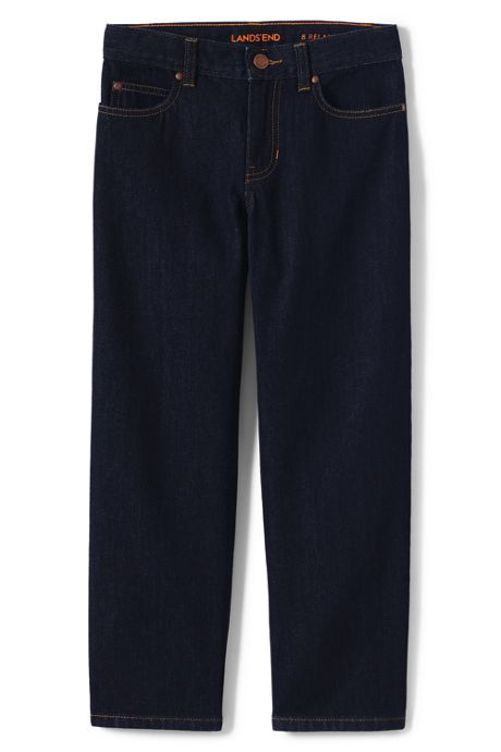 Little Boys Slim Iron Knee Relaxed Fit Jeans