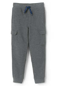 Boys Iron Knee Knit Cargo Joggers