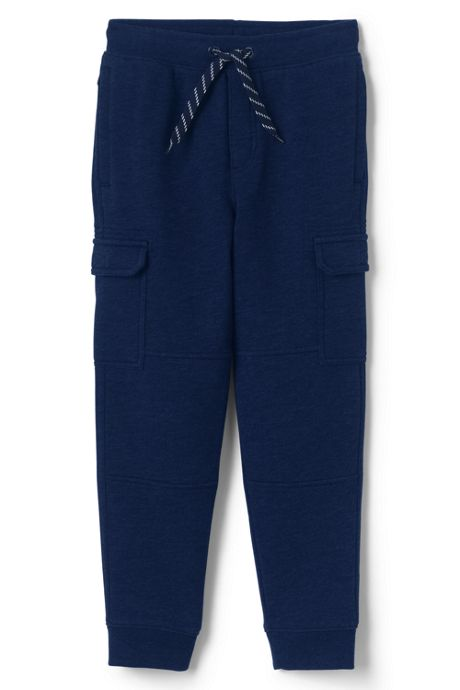 Boys Husky Iron Knee Knit Cargo Joggers