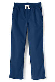 School Uniform Little Boys Iron Knee Pull On Pants