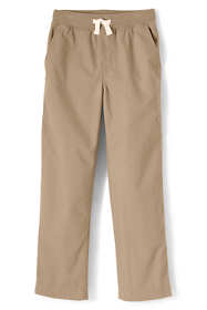 School Uniform Boys Husky Iron Knee Pull On Pants